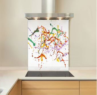 Picture of Abstract Splashes Splashback