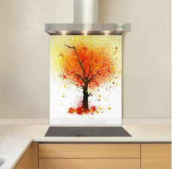 Picture of Ochre Tree Splashback