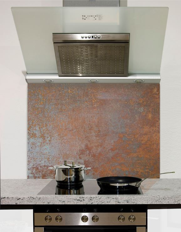 Picture of Rusted Copper Splashback