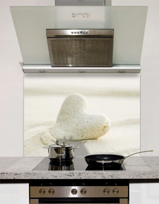Picture of Sand Heart Splashback