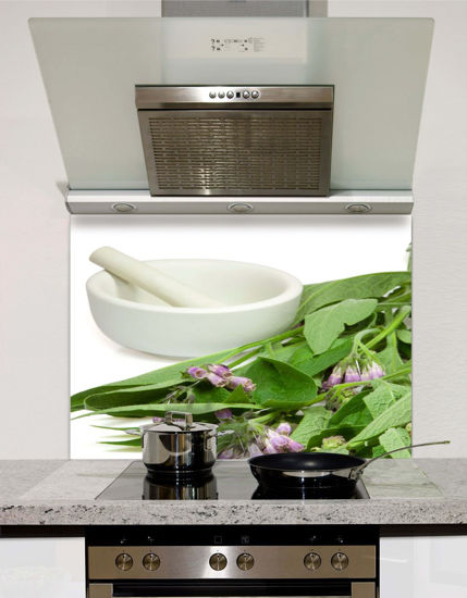 Picture of Herbs Pestle and Mortar Splashback