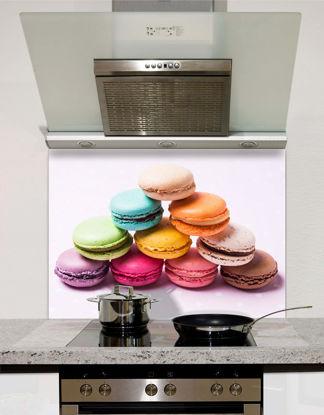 Picture of Rainbow Macarons Splashback