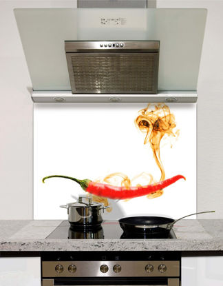 Picture of Red hot chilli pepper Splashback