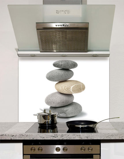 Picture of Pebble Stack Splashback