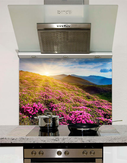 Picture of Purple fields Splashback