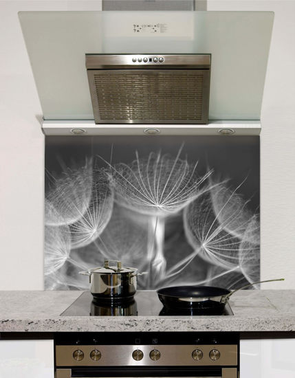 Picture of Graphite Dandelion Splashback