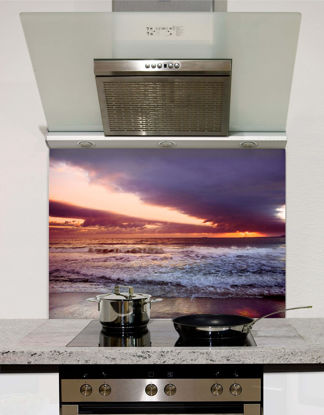 Picture of Sunset Waves Splashback
