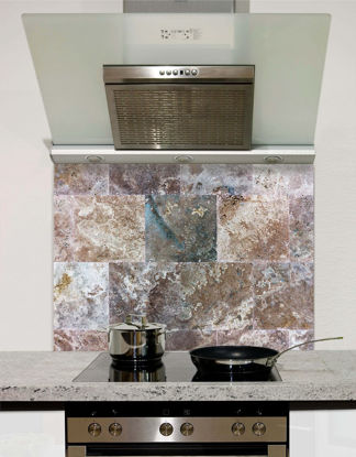 Picture of Slate Tile Effect Splashback