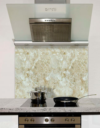 Picture of Beige marble Splashback