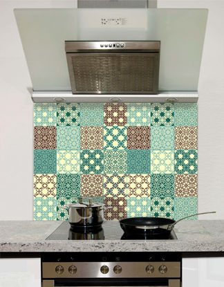 Picture of Duck Egg Tile Splashback