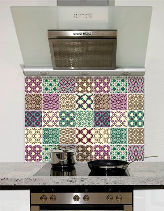 Picture of Multi Tile Splashback