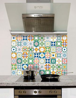 Picture of Seamless mosaic pattern Splashback