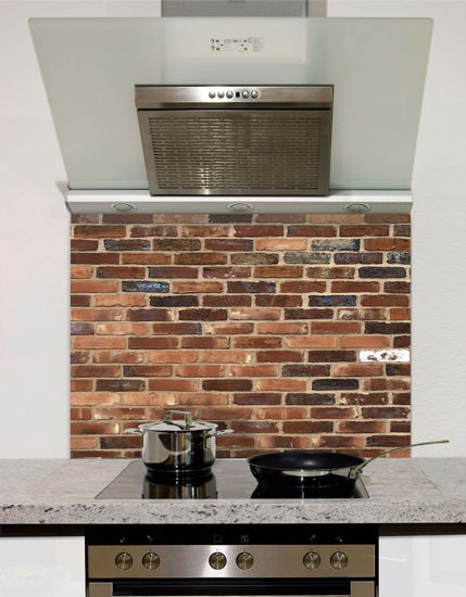 Picture of Shaded brick Splashback