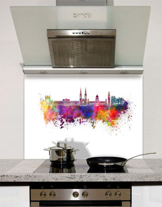 Picture of Watercolour Belfast Splashback