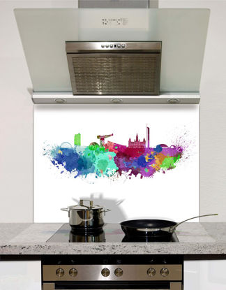 Picture of Watercolour Glasgow Splashback