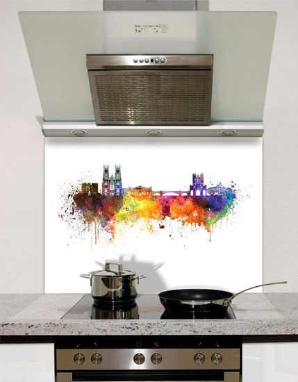 Picture of Watercolour York Splashback