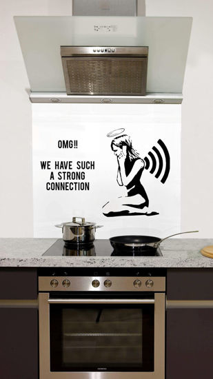 Picture of Strong connection Splashback