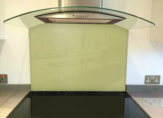 Picture of RAL Green Beige Splashback