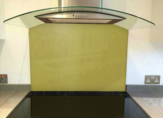 Picture of RAL Ochre yellow Splashback