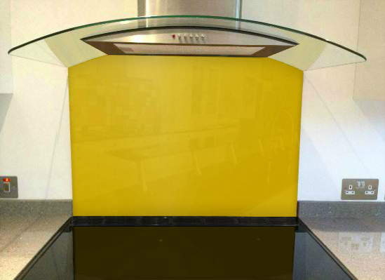 Picture of RAL Broom yellow Splashback