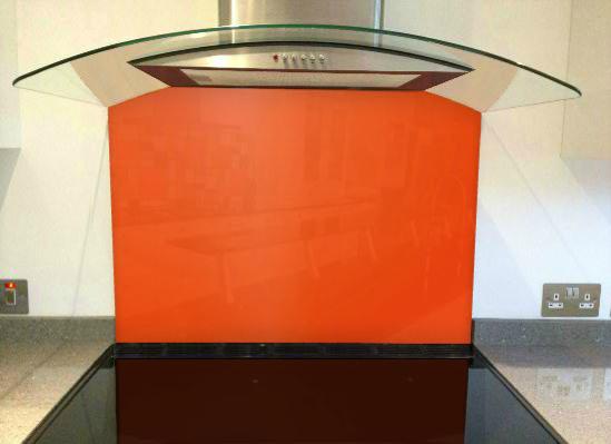 Picture of RAL Pure orange Splashback