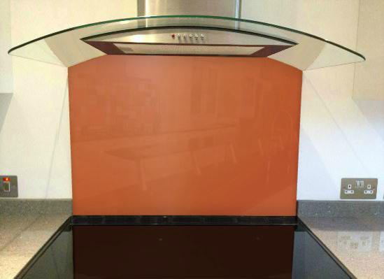 Picture of RAL Pearl orange Splashback