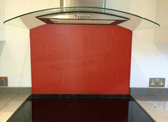 Picture of RAL Flame red Splashback