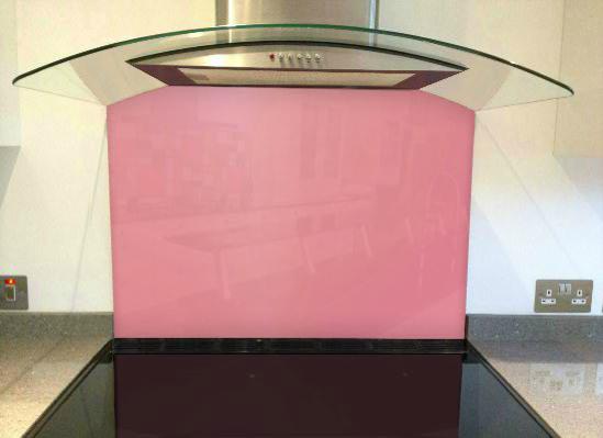 Picture of RAL Light pink Splashback