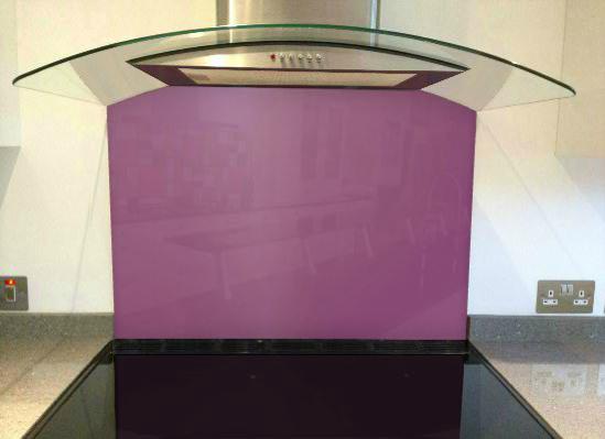 Picture of RAL Signal violet Splashback