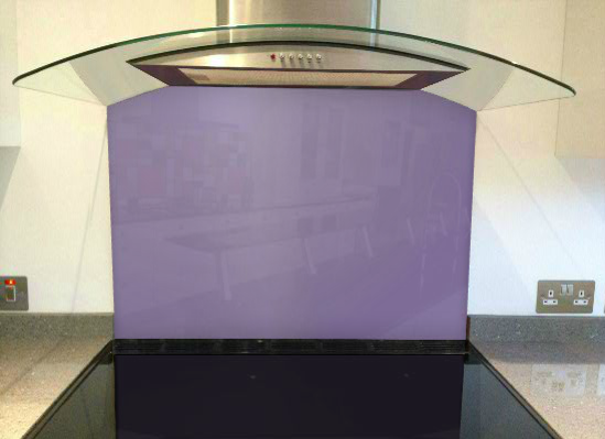 Picture of RAL Pearl violet Splashback
