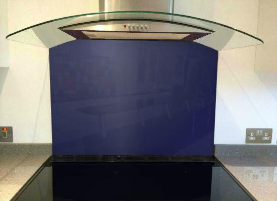 Picture of RAL Ultramarine blue Splashback