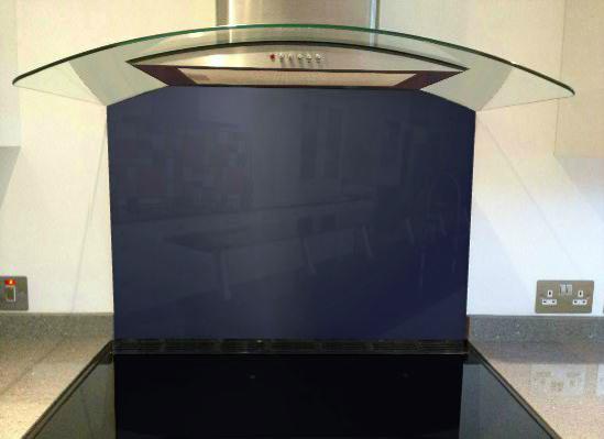 Picture of RAL Cobalt blue Splashback