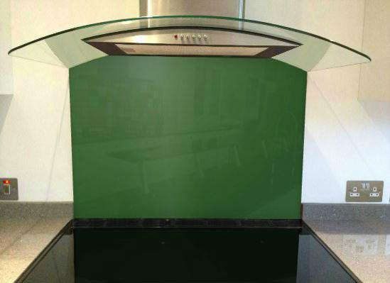 Picture of RAL Leaf green Splashback