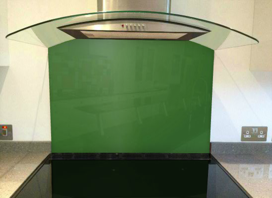 Picture of RAL Grass green Splashback