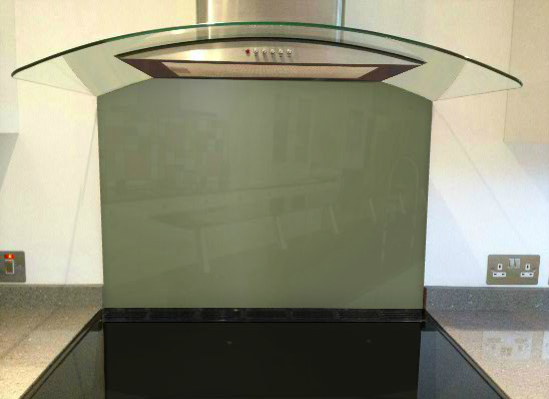 Picture of RAL Reed green Splashback