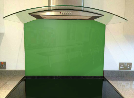 Picture of RAL May green Splashback
