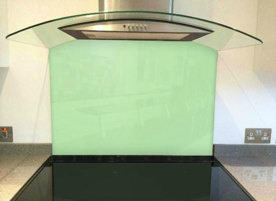 Picture of RAL Pastel green Splashback