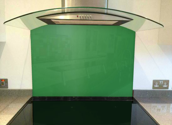Picture of RAL Traffic green Splashback