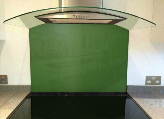 Picture of RAL Fern green Splashback