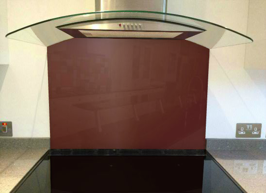 Picture of RAL Red brown Splashback