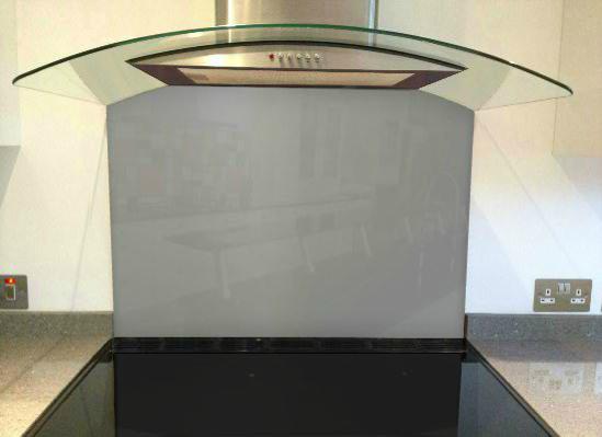 Picture of RAL Grey aluminium Splashback (RAL 9007)