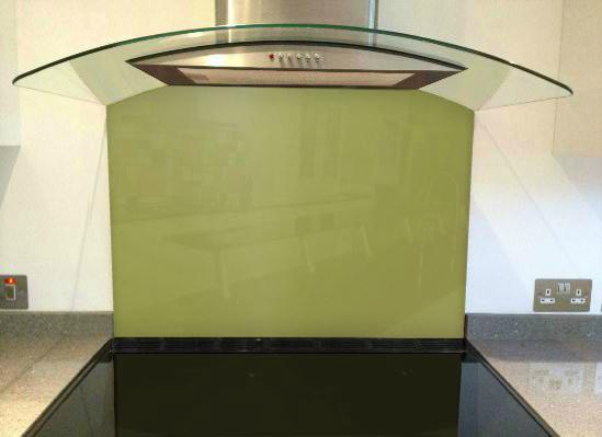 Picture of RAL 1020 Splashback
