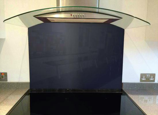 Picture of RAL 5003 Splashback
