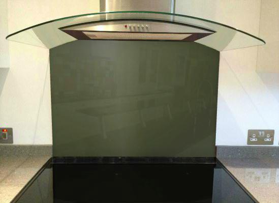 Picture of RAL 6003 Splashback