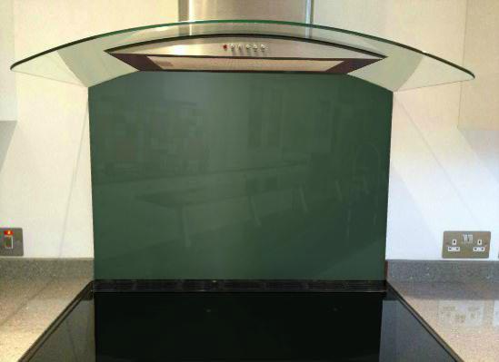 Picture of RAL 6005 Splashback (British racing green)