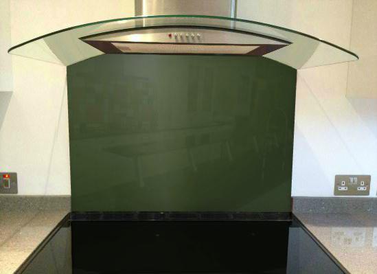 Picture of RAL 6020 Splashback