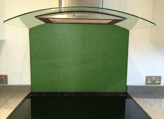 Picture of RAL 6025 Splashback