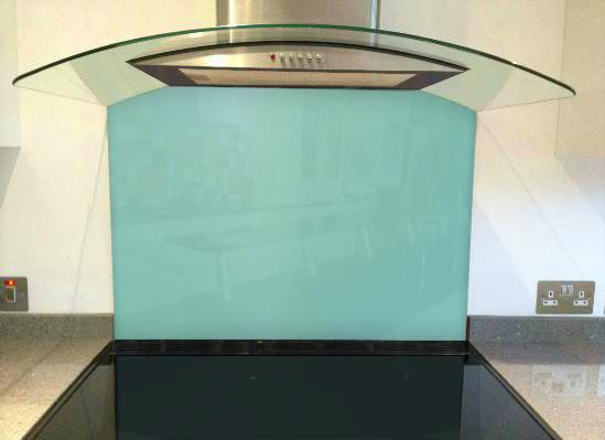 Picture of RAL 6027 Splashback