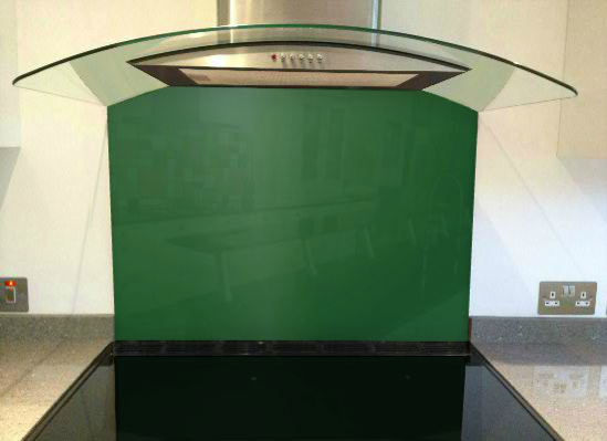 Picture of RAL 6035 Splashback
