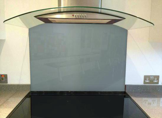 Picture of RAL 7000 Splashback